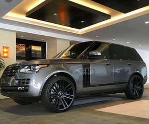 luxury, range rover, and SUV image
