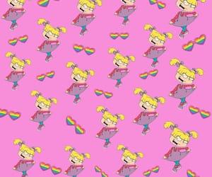 girly, pink, and rugrats image