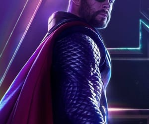 thor, infinity war, and Avengers image
