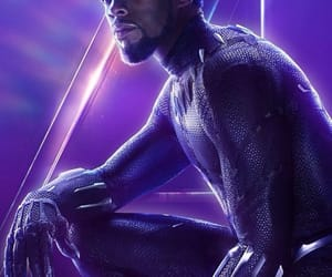 black panther, Marvel, and infinity war image