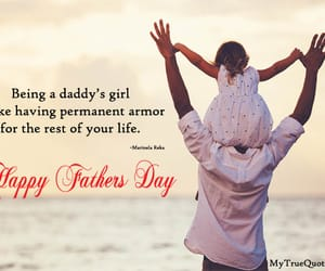 Fathers Day and daddy's girl quotes image