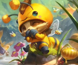 bee, game, and riot image