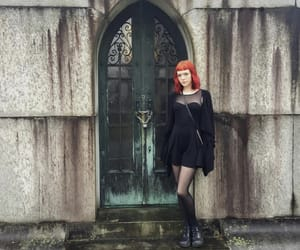 aesthetic, alternative, and cemetery image