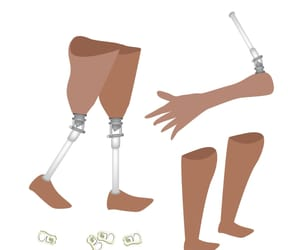 artificial leg below knee and prosthetic manufacturers image