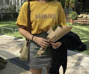 fashion, style, and yellow image