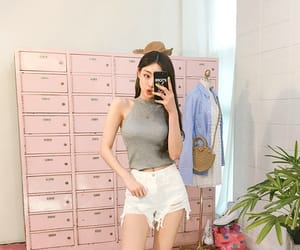asian fashion, cute, and korean outfits image