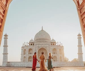 india, friends, and summer image