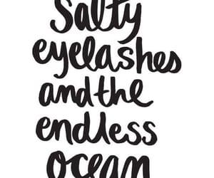 eyelashes, happiness, and salty image