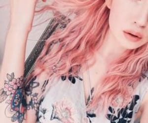 beautiful hair and colored hair image