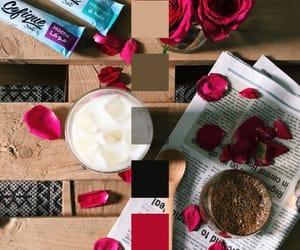 coffee, flowers, and ًورد image