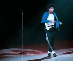 michael jackson, gif, and dance image