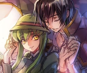 code geass, cc, and lelouch image