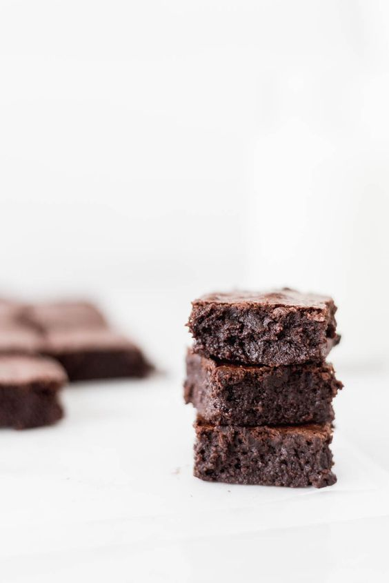 brownies, chocolate, and delicious image