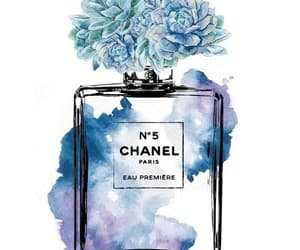 blue, chanel, and vintage image