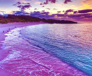 beach, color, and cool image