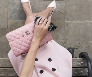 chanel, pink, and fashion image