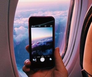 sky, travel, and clouds image
