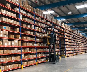 third party, logistics company, and warehouse india image