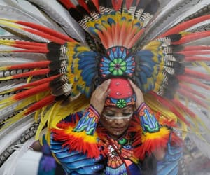 feathers, headdress, and native image