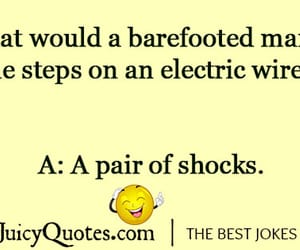electricity joke and electricity pun image
