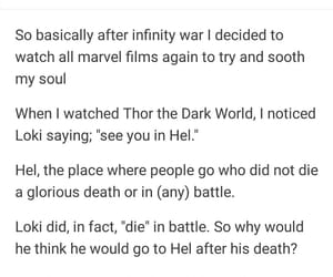 Marvel, thor, and tumblr image