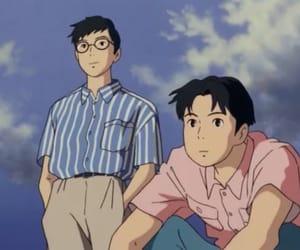 ocean waves, anime, and taku morisaki image