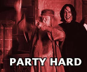 harry potter, party hard, and party image