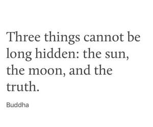 Buddha, hidden, and lie image