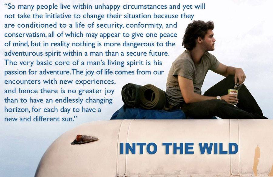 Into the wild / book review and personal thoughts