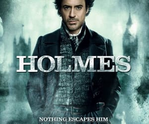 sherlock holmes, holmes, and robert downey jr image