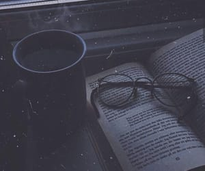 aesthetic, book, and spectacle image