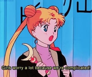 sailor moon, girl, and quotes image