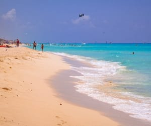 cancun, beautiful beaches, and exotic vacation image