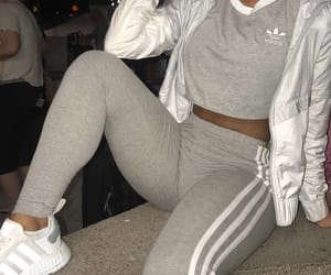 adidas, aesthetic, and sweatpants image