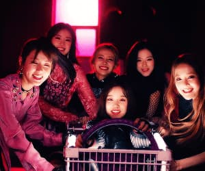 (g)i-dle, cube, and gif image