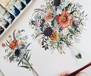 arte, ilustracion, and belleza image