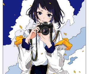 anime, black hair, and clothes image