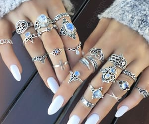 nails, style, and accessories image