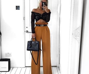 fashion, inspo girls, and outfits goals image
