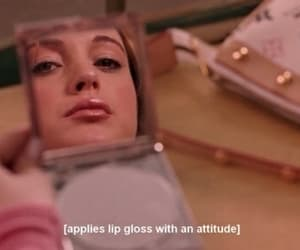 mean girls, movie, and attitude image