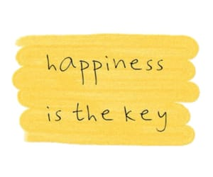 happiness, yellow, and quotes image