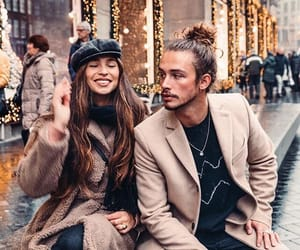 amsterdam, fairy lights, and couple image