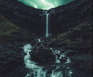 waterfall, landscape, and nature image
