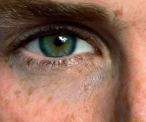 boy, eyes, and freckles image