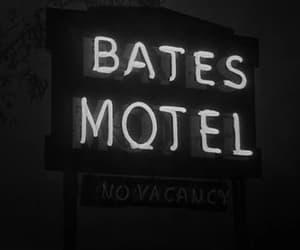 bates motel, gif, and black and white image