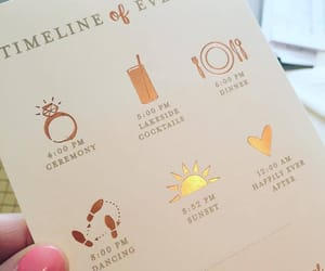 event, wedding card, and trending image