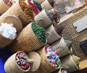 colour, marrakech, and épice image