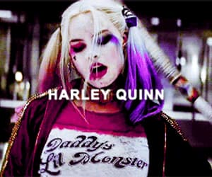 gif, DC, and harley quinn image