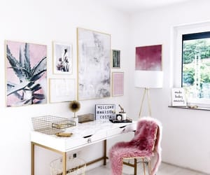 room, decoration, and girly image