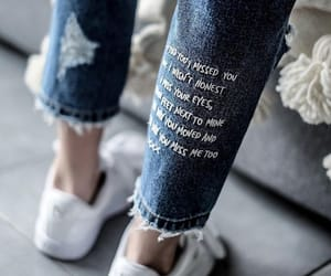 fashion, jeans, and quotes image